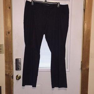 Black Maurices dress pants